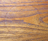 Ring marks on wood tops are unsightly and need to be fixed. These happen frequently to office furniture and kitchen tables, and night stands.